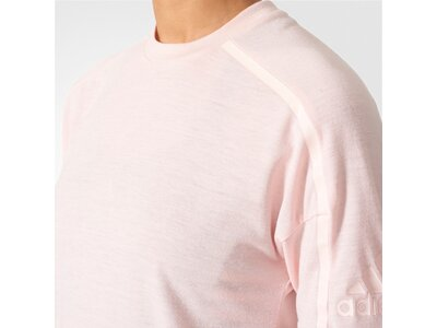 ADIDAS Damen Shirt ZNE TEE 2 WOOL Pink