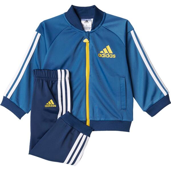 ADIDAS Kinder Trainingsanzug Shiny Blau