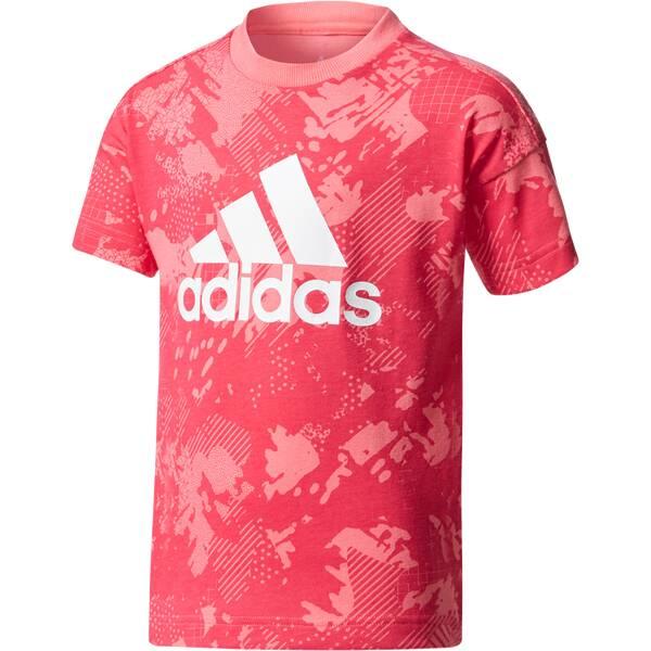 ADIDAS Kinder Shirt LK LOGO TEE Pink