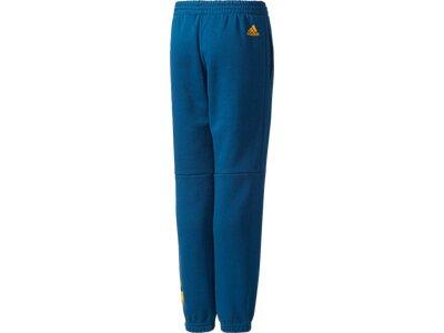ADIDAS Kinder Sporthose YB LIN PANT Blau