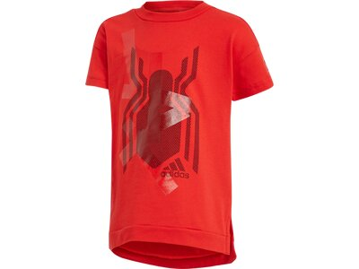 ADIDAS Kinder T-Shirt Marvel Spider-Man Rot