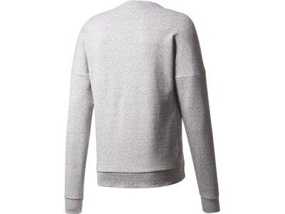 ADIDAS Herren Sweatshirt ID STADIUM CREW Silber