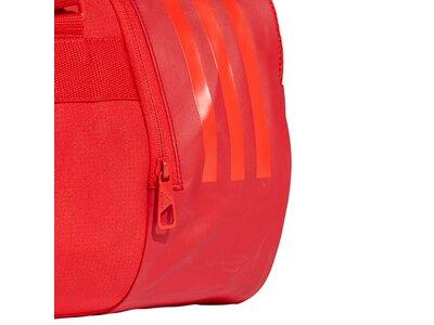 ADIDAS Convertible 3-Streifen Duffelbag S Rot