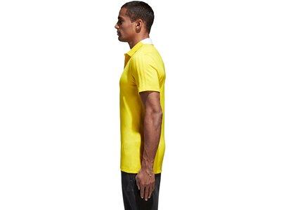 ADIDAS Herren Condivo 18 Cotton Poloshirt Gelb