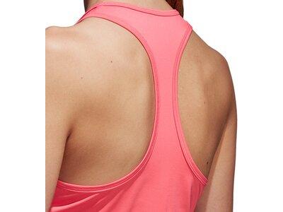 ADIDAS Damen Shirt D2M TANK 3S Pink