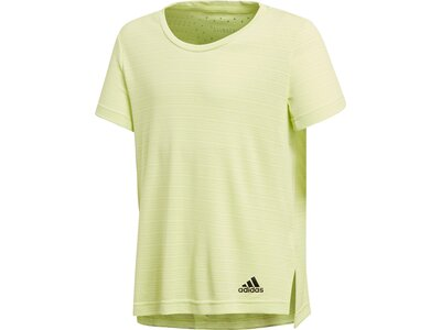 ADIDAS Kinder T-Shirt Training Climachill Braun
