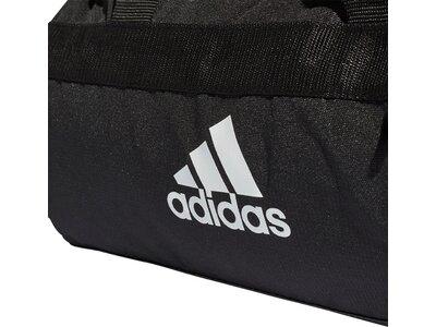 ADIDAS Convertible 3-Streifen Duffelbag XS Grau
