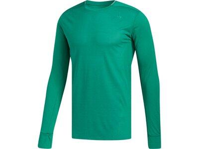 ADIDAS Herren Supernova Shirt Grün