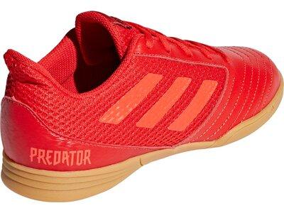 ADIDAS Kinder Fußballschuhe Predator 19.4 IN Sala Rot