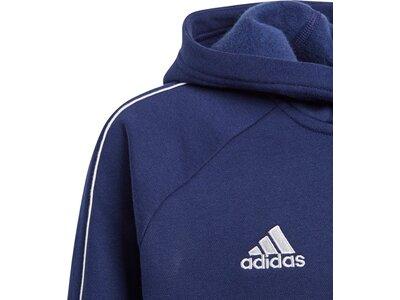 ADIDAS Kinder Core 18 Hoodie Blau