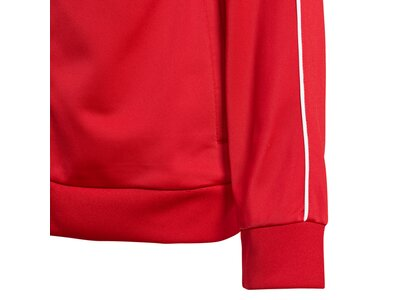 ADIDAS Kinder Core 18 Jacke Rot