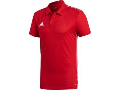 ADIDAS Herren Core 18 Climalite Poloshirt Rot