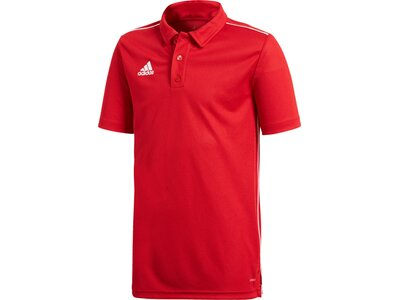 ADIDAS Kinder Polo CORE18 Rot