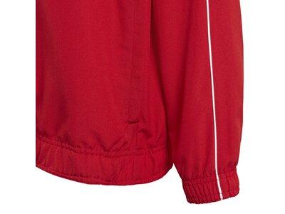 adidas Kinder Core 18 Präsentationsjacke Rot
