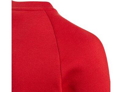 ADIDAS Kinder Core 18 Sweatshirt Rot