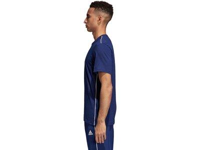 ADIDAS Herren T-Shirt Core 18 Blau