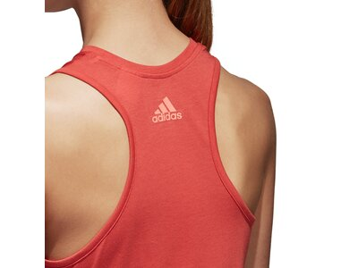 ADIDAS Damen Shirt Logo Cool Rot
