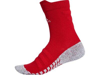 ADIDAS Herren Alphaskin Traxion Lightweight Cushioning Crew CLIMACOOL Socken Rot