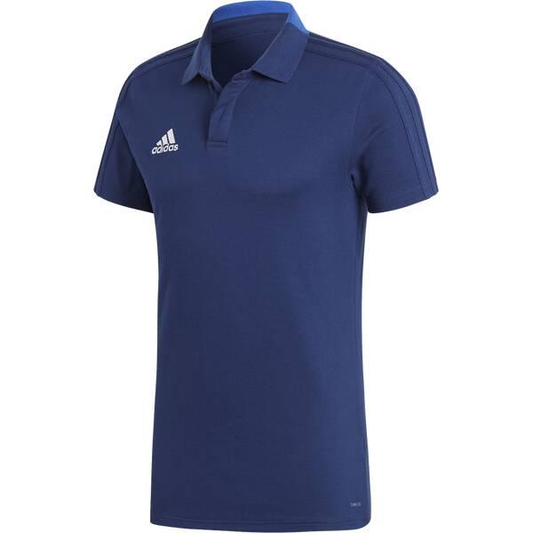 ADIDAS Herren Poloshirt Condivo 18 Blau