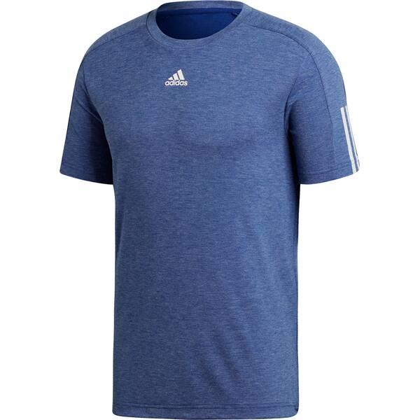 ADIDAS Herren T-Shirt ID Stadium 3-Streifen