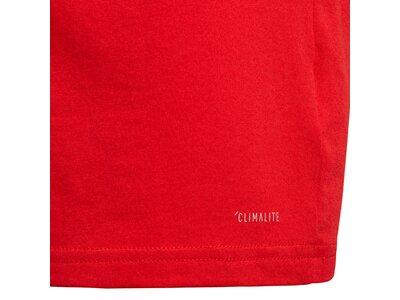 ADIDAS Kinder T-Shirt FC Bayern München Rot