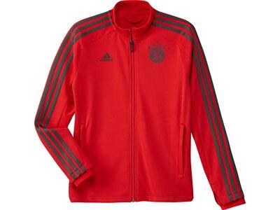 ADIDAS Kinder FC Bayern München Trainingsjacke Rot