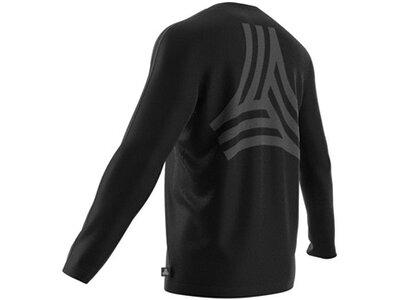 ADIDAS Lifestyle - Textilien - Sweatshirts Tango Terry Jersey Sweatshirt Schwarz