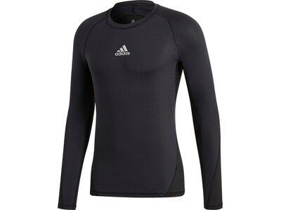 ADIDAS Herren T-Shirt Alphaskin Sport Grau