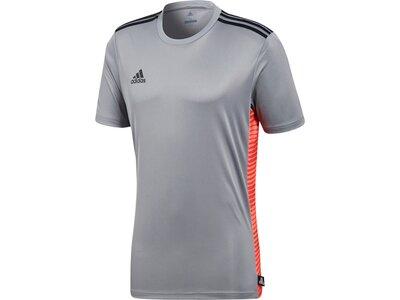 ADIDAS Herren Tango Climalite T-Shirt Grau