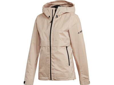 ADIDAS Damen Laufjacke W SWIFT Pro 2.5L Jacket Pink