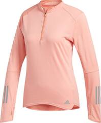 ADIDAS Damen Longsleeve RESPONSE 1/2ZIP LONG SLEEVE TEE WOMEN