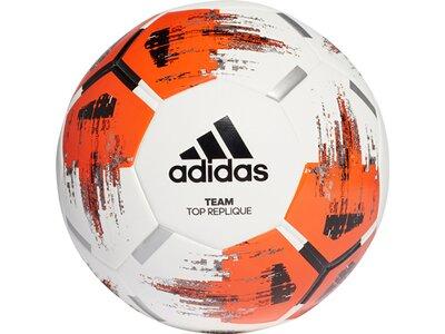 ADIDAS Herren Team Top Trainingsball Grau