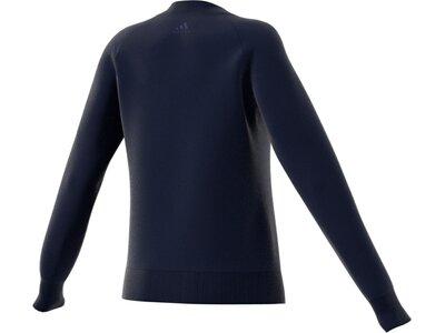 ADIDAS Damen Sweatshirt Linear Crewneck Sweatshirt Schwarz