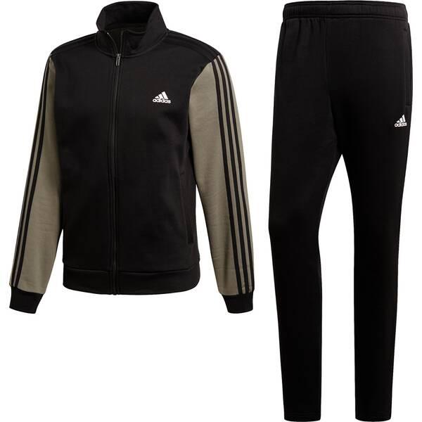 ADIDAS Herren Trainingsanzug CO RELAX TS | Sportbekleidung > Sportanzüge | Black - White | ADIDAS