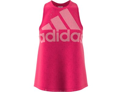 ADIDAS Damen Tanktop Magic Logo Rot