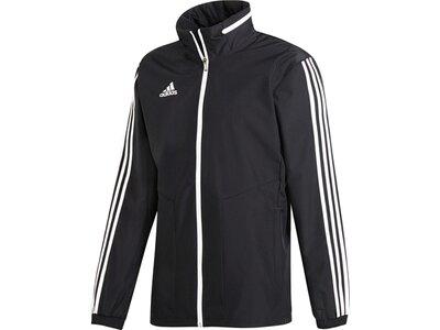 ADIDAS Fußball - Teamsport Textil - Allwetterjacken Tiro 19 Allwetterjacke Jacket Dunkel Grau