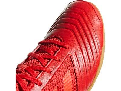 ADIDAS Herren Fußballschuhe Predator 19.4 IN Sala Rot