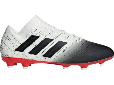 ADIDAS Fußball - Schuhe - Nocken NEMEZIZ Virtuso 18.2 FG Grau