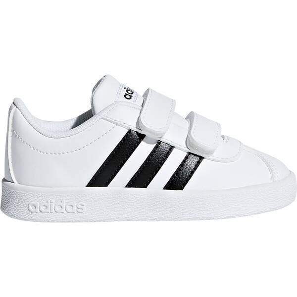 100% authentic 98345 b4ddc ADIDAS Kinder VL Court 2.0 Schuh FTWWHTCBLACKFTWWHT