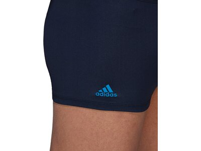 ADIDAS Herren Badehose regular training+ graphic boxer Schwarz