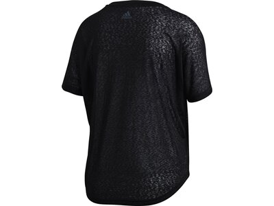 ADIDAS Damen T-Shirt Ready To Go Schwarz