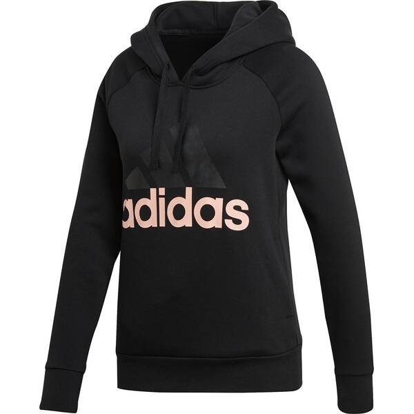 ADIDAS Damen Essentials Linear Overhead Fleece Hoodie