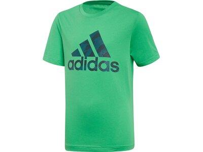 ADIDAS Kinder T-Shirt Badge of Sport Grün