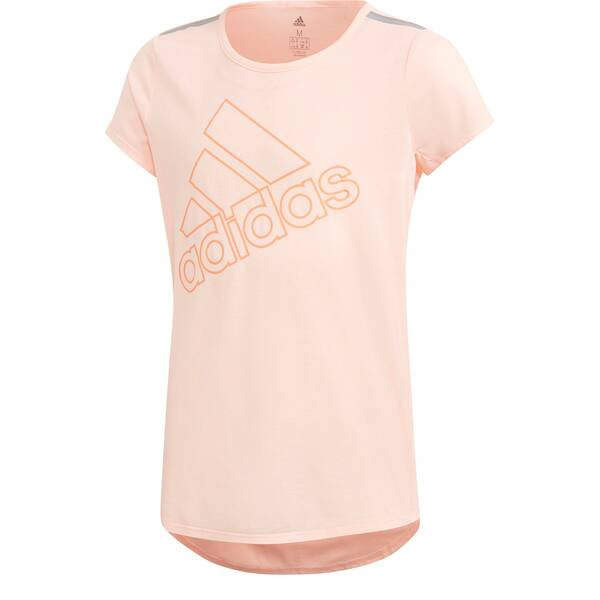 ADIDAS Damen Training Brand T-Shirt Pink