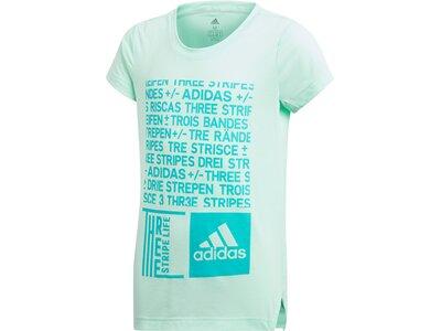 ADIDAS Kinder T-Shirt Training Graphic Grau