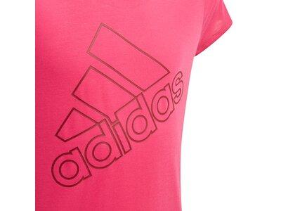 ADIDAS Kinder T-Shirt Training Brand Pink