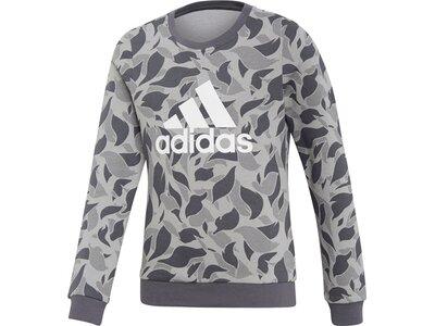 ADIDAS Kinder Sweatshirt Grau