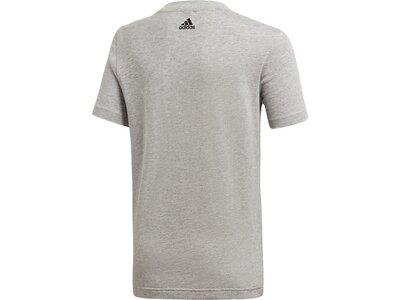 ADIDAS Kinder Shirt YB ID GRAPHIC T Grau