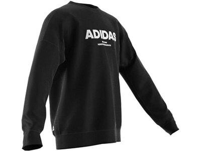 ADIDAS Kinder All Caps Sweatshirt Grau