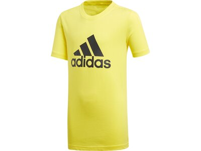 ADIDAS Kinder Trainingsshirt Logo Gelb